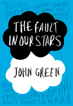 A TALE OF TWO GEEKS Hazel and Augustus, two young cancer patients, find love in this comical, yet heartbreaking novel