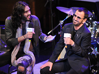 Ringo Starr, Russell Brand