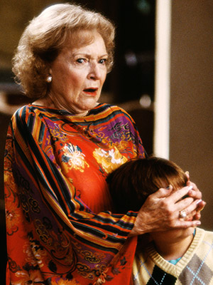 Betty White | Bringing Down the House (2003) Her nosy bigoted neighbor was simply not down with having Queen Latifah's Charlene, an ex-con, on the block.
