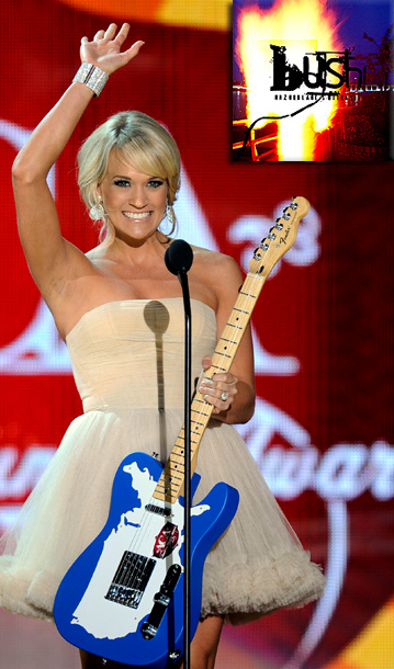 Carrie Underwood | ''Of course, country music was always around, but when I was in seventh grade, this older boy that I liked listened to alternative music, so…