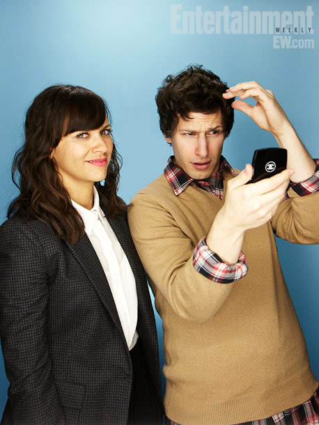 Andy Samberg, Rashida Jones