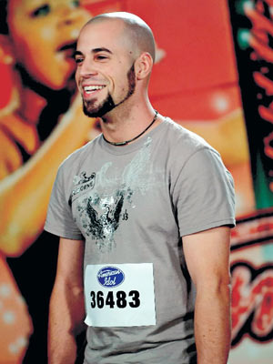 Chris Daughtry, American Idol | Slightly more promising was Daughtry, the raspy-voiced 25-year-old who's handsome in spite of the unfortunate topiary that doubles as his facial hair. Paula was right…