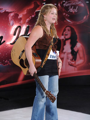 American Idol, Crystal Bowersox | Several other singers tonight managed to make mostly positive first impressions. Two of 'em, Lee Dewyze and Crystal Bowersox, had their tryouts lumped together based…