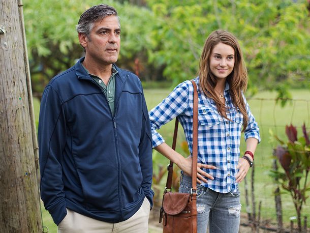 George Clooney, Shailene Woodley, ... | George Clooney heads an impressive cast (including breakout Shailene Woodley) in Alexander Payne's affecting family drama, which should score several big nods. (In theaters)