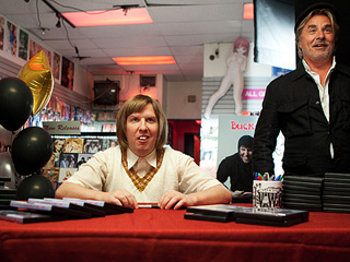 GOING NOWHERE Nick Swardson and Don Johnson in Bucky Larson: Born to Be a Star
