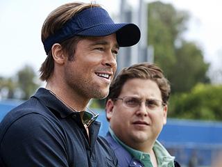 Brad Pitt, Jonah Hill, ... | ON THE 'MONEY' Brad Pitt and Jonah Hill in Moneyball