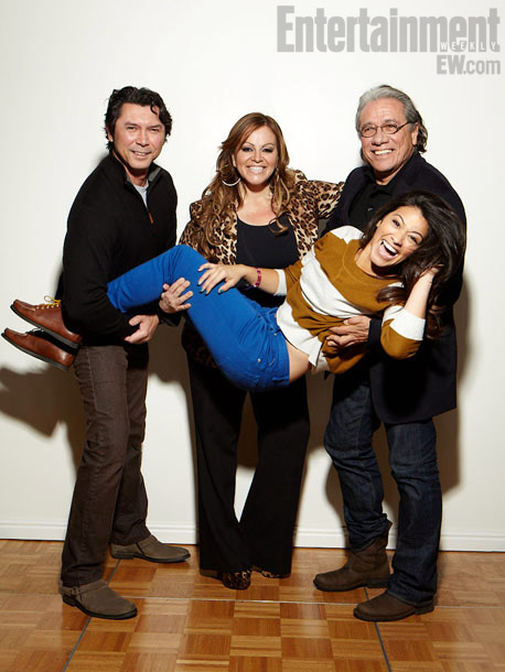 Lou Diamond Phillips, Jenni Rivera, Gina Rodriguez, and Edward James Olmos, Filly Brown