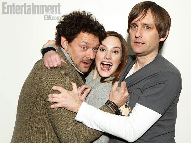 Richard Coyle, Ruth Bradley, and Jon Wright (director), Grabbers