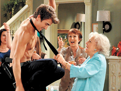 Hot in Cleveland (2010) As Elka Ostrovsky, the tart-tongued, sexually formidable caretaker with a colorful past (by ''colorful'' we mean Nazi escapes and alcoholism, of…