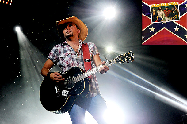 Jason Aldean | ''I had my little record player in my room as a kid, and my mom bought it for me. It was kind of that cross…