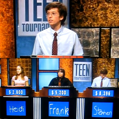Jeopardy! | When Teen Jeopardy front-runner Stephan, incorrectly answers a question about an Oscar nominated actress, he exasperatedly blurts out the F-word . Unfortunately for him, though…