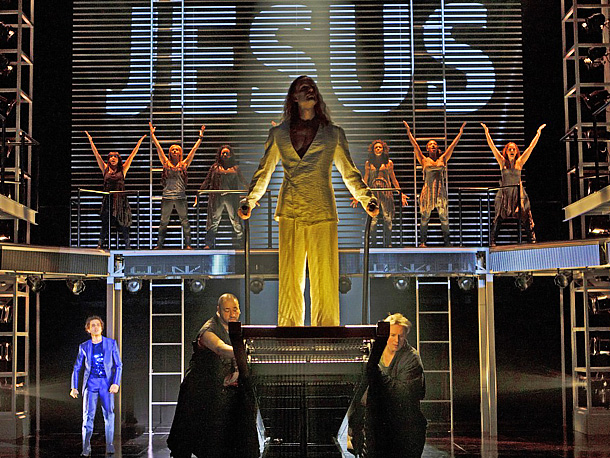 Jesus Christ Superstar | We're Excited About: The Stratford Shakespeare Festival's sparkling revival of Tim Rice and Andrew Lloyd Webber's rock & roll retelling of Jesus' last days finally…