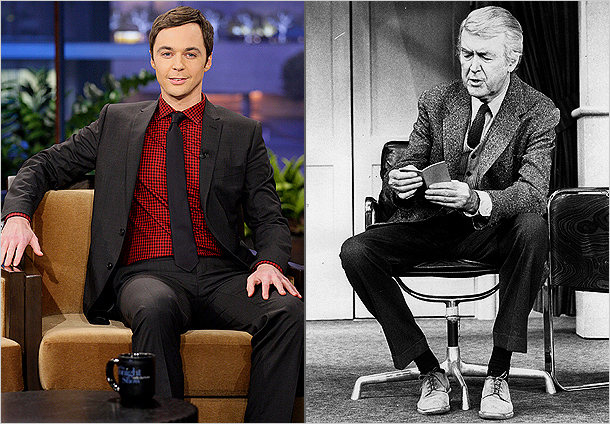 Jim Parsons, Jimmy Stewart | We're Excited About: How's this for inspired casting: The Big Bang Theory 's Jim Parsons takes on one of Jimmy Stewart's signature stage and screen…