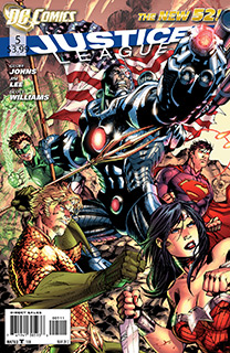 Justice League 5 Cover