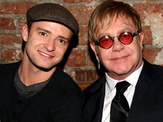 Justin Timberlake Elton John