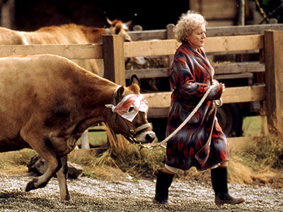 Betty White | Lake Placid (1999) She played the foul-mouthed nutty lakeside resident Delores Bickerman who cared for the crocodile that killed her husband.