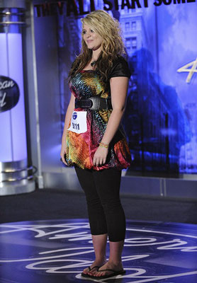 Lauren Alaina | Georgia resident Lauren Alaina, 15, can do a cartwheel. She definitely had a powerhouse vocal on Faith Hill's ''Like We Never Loved At All,'' but…