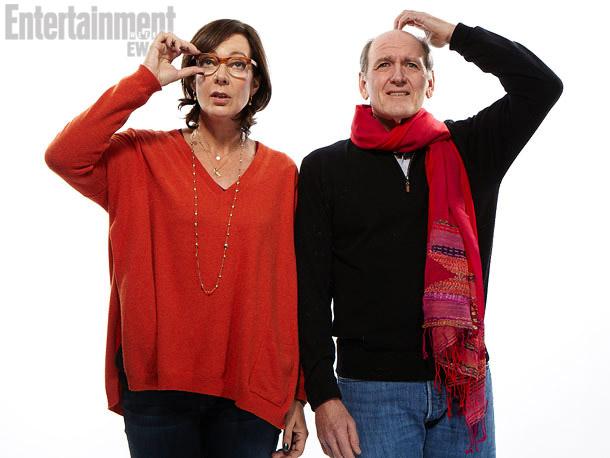 Allison Janney, Richard Jenkins