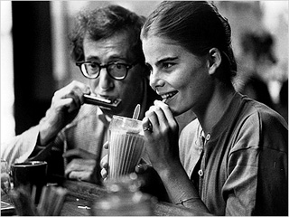 MANHATTAN Woody Allen and Mariel Hemingway