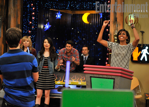 Michelle Obama ICarly