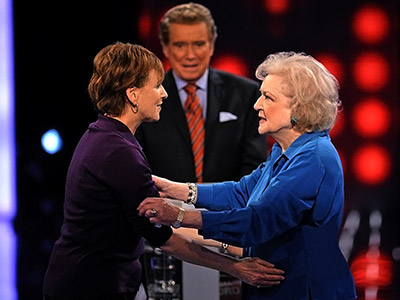 Betty White | Million Dollar Password with Regis Philbin (June 12, 2008, Dec. 28, 2008) No stranger to the show (she was married to Mr. Password, Allen Ludden,…