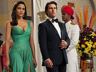 Tom Cruise, Mission: Impossible - Ghost Protocol | TUXEDO JUNCTION Paula Patton and Tom Cruise in Mission: Impossible—Ghost Protocol