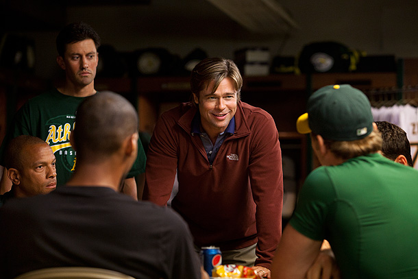 Brad Pitt, Moneyball | Nominations: 6 Box Office to Date: $76 million Print out our Oscar ballot and check in on GetGlue .