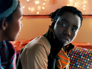SECRET IDENTITY Aasha Davis as Bina and Adepero Oduye as Alike in Pariah