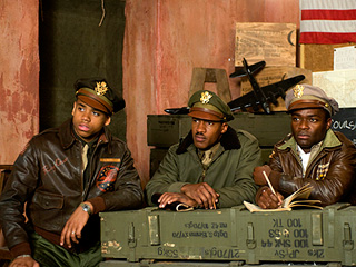 SOMETHING TO PROVE Tristan Wilds, Nate Parker, and David Oyelowo in Red Tails