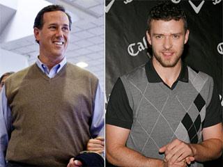 Rick Santorum Timberlake