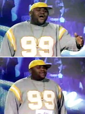Ruben Studdard, American Idol | Ultimately, Randy and Paula were right too, when they gave a standing ovation to, literally, the two biggest talents: Ruben, representin' his flava from Birmingham…