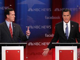 Santorum Romney