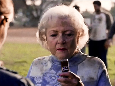 Betty White | Snickers commercial (2010) ''That's not what your girlfriend said.'' Nuff said. Watch a clip
