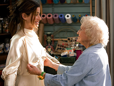 Betty White | The Proposal (2009) She felt up America's Sweetheart Sandra Bullock and got low on one very inappropriate Native American dance.