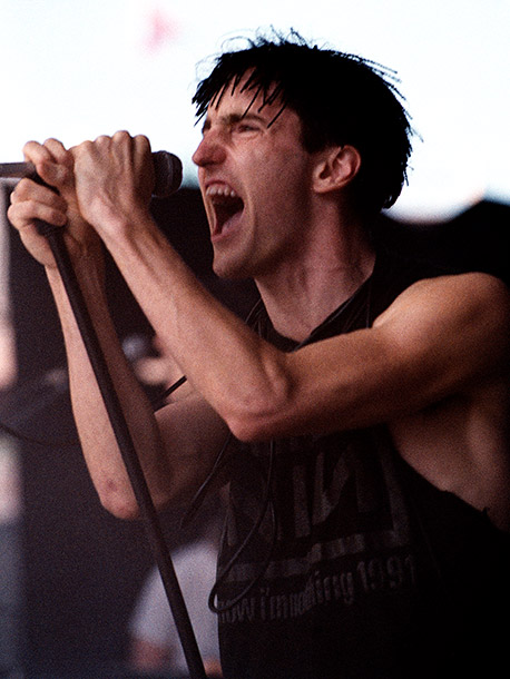 Trent Reznor   Following the release of Pretty Hate Machine , Nine Inch Nails toured constantly, including a stint on the very first Lollapalooza in 1991. Wanting to…