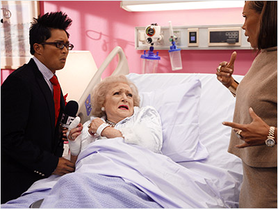 Betty White | Ugly Betty episode (2007) Who could take on Wilhemina? Why Betty White (playing herself), of course. Watch a clip