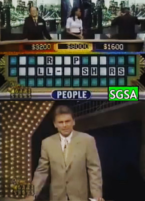 Wheel of Fortune | It's perfectly understandable why a contestant would think the ''People'' puzzle was ''A Group of Pill-Pushers'' (as opposed to Well-Wishers). Or not. Yelled Pat Sajak,…
