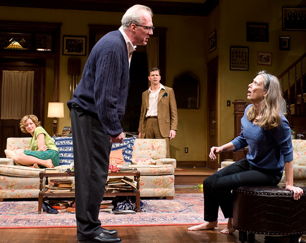 Amy Morton | We're Excited About: The Steppenwolf Theatre Company's much-loved production of Edward Albee's classic four-hander hits Broadway on the play's 50th anniversary with its George and…