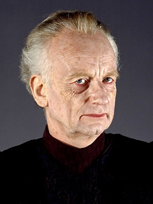 Ian McDiarmid | Palpatine, the obscure senator from Naboo who craftily rises to the post of galactic chancellor (in Episode I ) and ultimately emperor (in Episode III…
