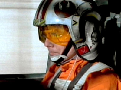 Star Wars: Episode IV - A New Hope, Mark Hamill | Fans of the Battle of Yavin, the Episode IV climax where Luke Skywalker (shown) and his fellow X-Wing pilots launch a successful assault on the…