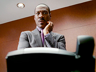 TONGUE-TIED Eddie Murphy weaves a web of lies in A Thousand Words