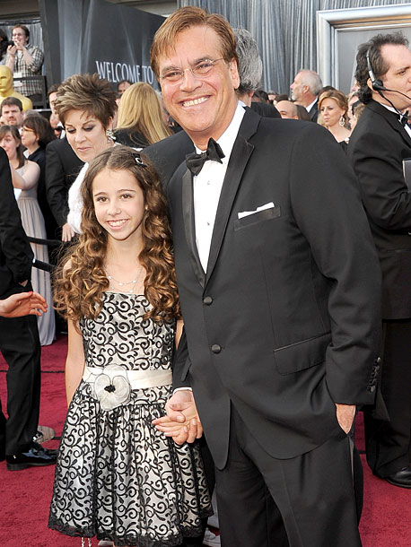 Aaron Sorkin and daughter Roxy Sorkin