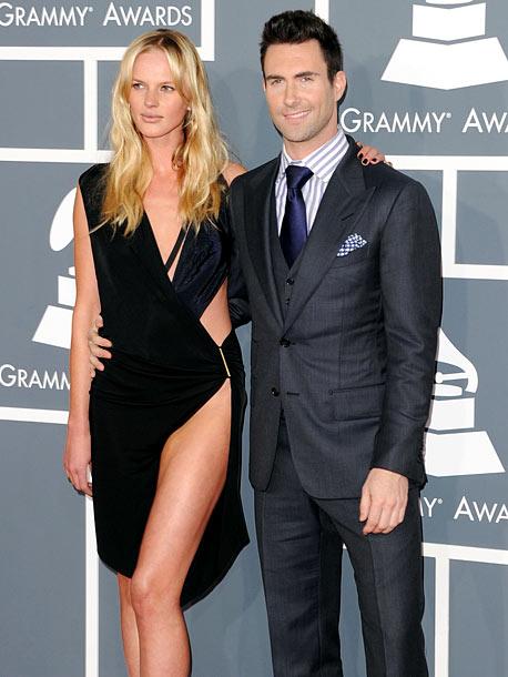 Adam Levine, Grammy Awards 2012