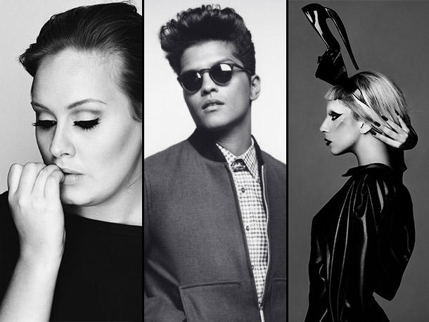 , Lady Gaga, ... | Adele, 21 The Hit Songwriter: ''This is a hard one. I voted for Adele again, but I tell you what I think: I think Kanye…