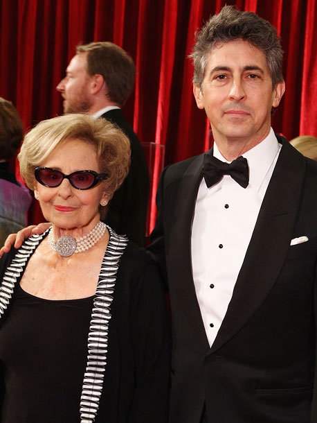 Alexander Payne and mother Peggy
