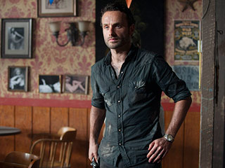 Andrew Lincoln Walking