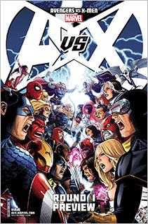 Avengers Vs X Men Cover