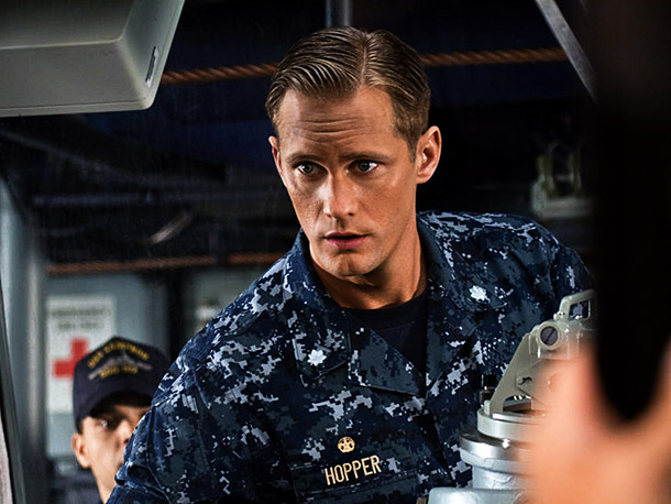 Taylor Kitsch plays a U.S. Navy officer alongside Rihanna in an alien-infused take on the iconic game.