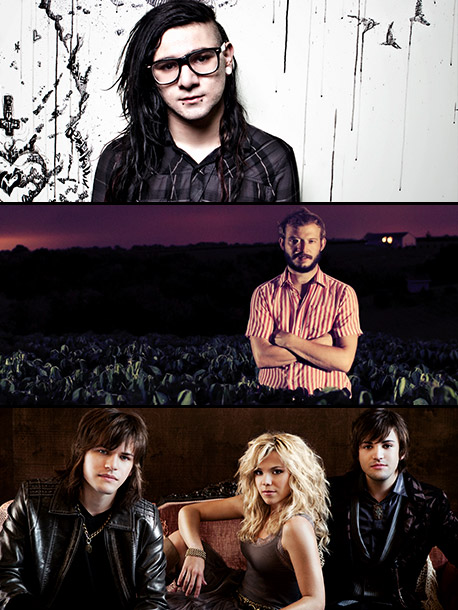 Bon Iver, The Band Perry | Skrillex The Pop Star: ''This is truly Skrillex's genesis. He got nominated for five Grammys with a genre he pretty much made popular. My friend…