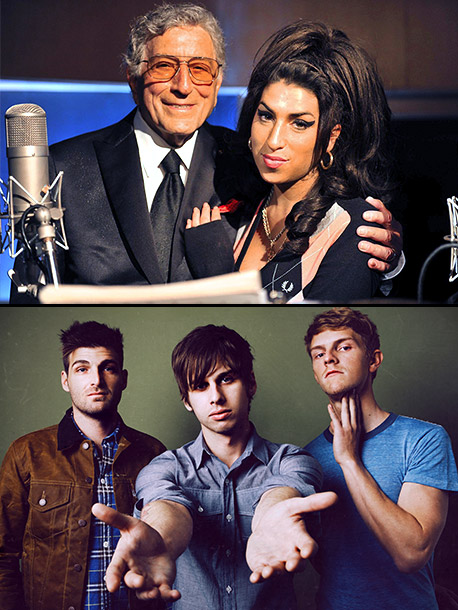 Tony Bennett, Amy Winehouse, ... | Tony Bennett and Amy Winehouse The Pop Star: ''I'm gonna go with Tony Bennett and Amy Winehouse as my pick. That's probably going to take…